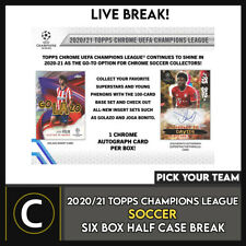 2020/21 TOPPS UEFA CL Cromo Soccer 6 Caja romper #S190 - Elige Tu Equipo
