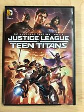Justice League vs Teen Titans (Dvd, Dc Universe, 2016) - G0105