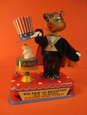 ALL ORIGINAL YONEZAWA Mr FOX the MAGICIAN DISAPPEARING RABBIT WORKING 1960