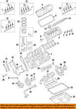 FORD OEM 11-16 F-350 Super Duty-Engine Crankshaft Crank Main Bearing AU7Z6D309DB