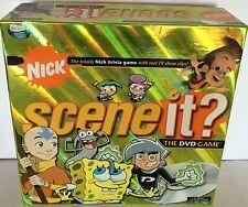 Nick SCENE IT IL GIOCO DA TAVOLO DVD NICKELODEON quiz per i bambini famiglia