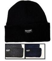 New Boys Thinsulate Knit Beanie Hat Size 6-9 10-13 Years Ski Winter Warm NWT