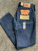 Vintage Original Levi's 501 Shrink to Fit Blue Jeans 1993 Size 35 x 36 NOS NWT