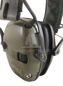Howard Leight Electronic Earmuff Impact Sport Shooter Outdoor Headphone RRP99.99
