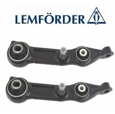 For MB W211 W219 CLS500 Pair Set Of 2 Front Lower Control Arms OEM Lemfoerder