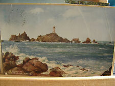 Postcard, La Corbiere Lhouse, Jersey, 1940s?, Valentine, from water colour, 318