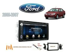 2005-2007 FORD FOCUS DDIN STEREO KIT, BLUETOOTH USB TOUCHSCREEN DVD