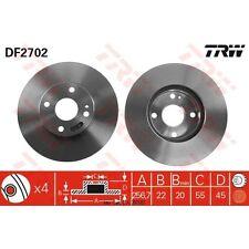 Bremsscheibe, 1 Stück TRW DF2702