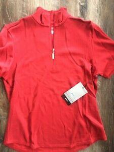 Cutter & Buck Ladies DryTec Polo - Cotton Poly Blend - Cardinal - Medium - New