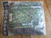 Packable Lightweight Green Brown Camo Wildfowling Decoying Hide Net 10ft x 4.5ft