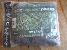 Jack Pyke Lightweight Green & Brown Leafy Scrim Pigeon Decoying Hide Net 3x1.4m