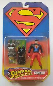 Superman Man of Steel Superboy Action Figure - Kenner - 1995