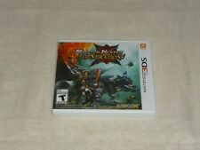Monter Hunter Generations (Nintendo 3DS, 2015 )  WITH CASE & COVER