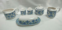 Pfaltzgraff Blue Isle Set of Assorted Serving Pieces 8-Pieces Total S9186