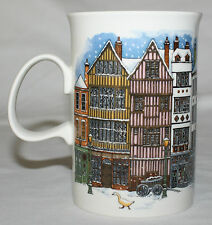 Dunoon Scotland Mug Victorian City Village Boy with Geese