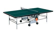 Sponeta Indoor Tischtennisplatte S 3-46i Grün oder S 3-47i Blau  mit Netz