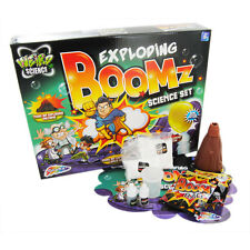 Exploding Boomz Science Mad Scientist Experiment Chemistry Set Toy 44-0024