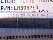 LM393PE4 Texas Instruments Dual Differential Comparators 8-Pin Dip (Quantity 10)