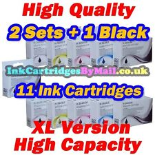 11 HQ CHIPPED Compatible Ink Cartridges HP 364XL Black Cyan Magenta Yellow Photo