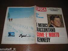 EPOCA 1964/700=J.F.KENNEDY=TAORMINA=MODA DONNA 64=CIPRO GUERRA LIMASSOL NICOSIA