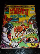 Planet of the Apes & dracula lives BD - No 92 - DATE 21/07/1976 - Marvel