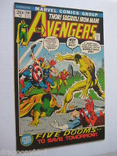 Vintage Old Collectible Marvel Comic Book Avengers101 NM-