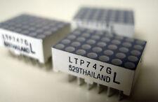 """Quantity Ten pieces,  LiteOn Dot Matrix Display model LTP747G - 0.7"""" 5x7 Green"""