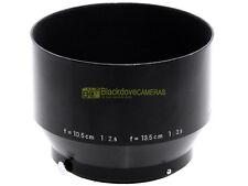 Nikon F paraluce per 10,5 cm. f2,5 e 13,5cm. f3,5. Innesto a scatto 52mm.