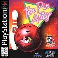 Ten Pin Alley For PlayStation 1 PS1 10 8E