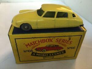 MATCHBOX LESNEY RW 1-75 No 66 CITROEN DS 19 GPW VN MINT IN EXCELLENT B5 BOX
