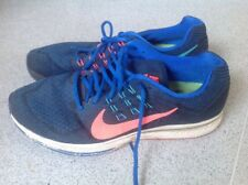 Nike Zoom Structure 18 Hombre Para Correr Air Tenis Azul Talla Uk10, 5/45,5