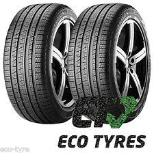 2X Tyres 255 55 R20 110Y Pirelli Scorpion Verde A/S C C 71dB