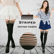 V.O.L.A Pure Beauty Original Striped Beauty Stocking Pants S064-04 [Taiwan]