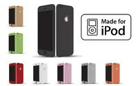 Textured Carbon Fibre Skin Sticker Vinyl iPod Touch 2-3-4-5 6th Generation