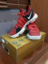 ZOOM KDX KD10 KEVIN DURANT BASKETBALL SHOES SIZE US 10.5 RED VELVET CUPCAKE