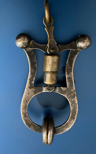"""Nice Antique Victorian Ladies Skirt Lifter Stamped """"SURPRISE"""""""
