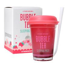 Etude House Bubble Tea Sleeping Pack #03 Strawberry -US SELLER -KOREAN COSMETIC