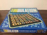 Vintage 1981 TRIBULATION Board Game Tri Number Math COMPLETE Whitman 4407-20