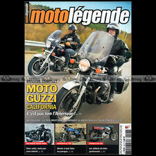 MOTO LEGENDE N°190 GUZZI GT 850 T3 1000 CALIFORNIA YAMAHA 250 YD2 KAWASAKI Z 400