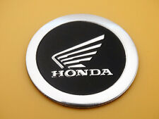 4cm Motorcycles  Tank Faring Round Badge Emblems Decal Sticker for Honda Wing