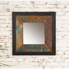Urban Chic Small Mirror Reclaimed Wood Indian Furniture