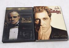The Godfather Part 1 & 3Iii Dvd 1990, 2008 Coppola Restoration Remastered Sleeve