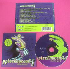 CD Compilation Pptechnocom 4 BENNY BENASSI GIGI D'AGOSTINO no lp mc vhs(C26)