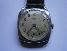 Vintage gents wristwatch AVIA mechanical watch working swiss made