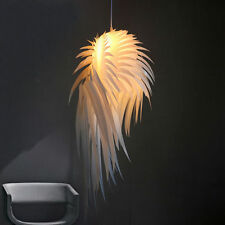 Creative Fashion Wing Feather Ceiling Light Hanging Lamp Fixtures Pendant Decor