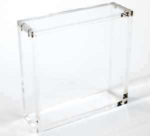 Large JAPANESE Pokemon Box MAGNETIC Protective Booster Case - Clear Acrylic CH
