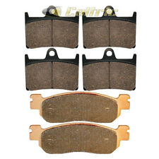 BRAKE PADS YAMAHA R6 YZFR6 YZF-R600 1999-2002 FRONT REAR MOTORCYCLE BRAKE PADS
