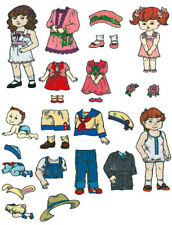 Brother Baby Lock Embroidery Memory Card #51 Doll Clothes New