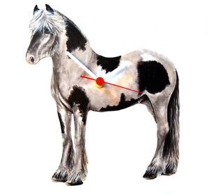 Gypsy Horse Clock - Gypsy Clock - Gypsy Horses - Gypsy Gift - HO22-C
