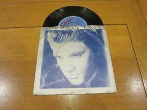 "ELVIS PRESLEY - It's Only Love - 1980 UK ""A"" label 2-track 7"" Vinyl Single"